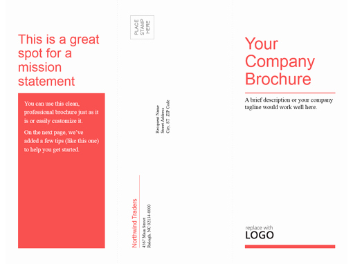 Microsoft Office Brochure Template Unique Brochures Fice