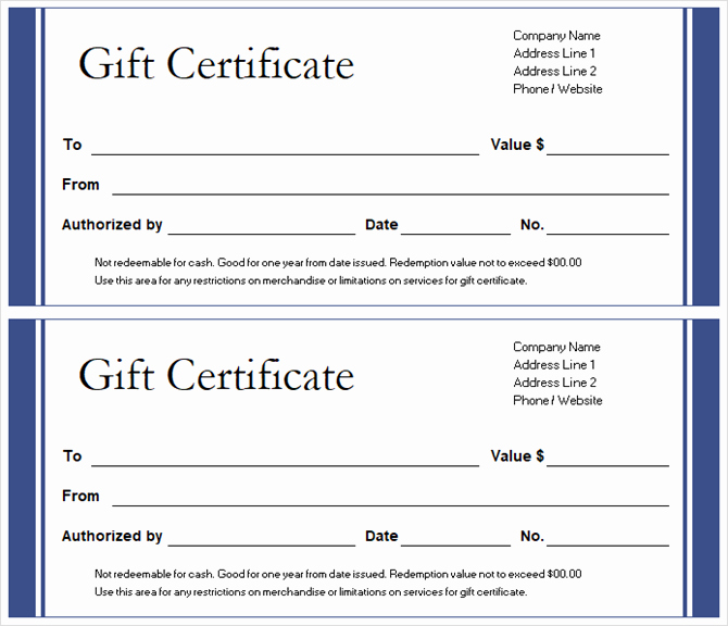 Microsoft Office Certificate Template Awesome Get A Free Gift Certificate Template for Microsoft Fice