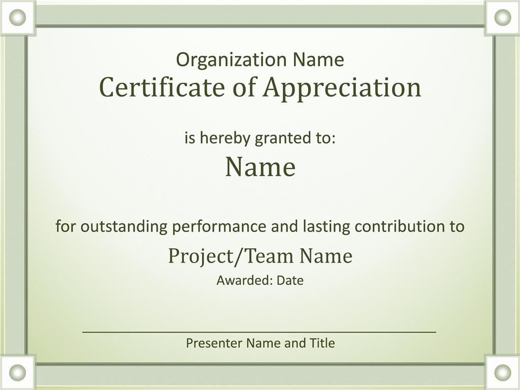 Microsoft Office Certificate Template Best Of Certificates Fice