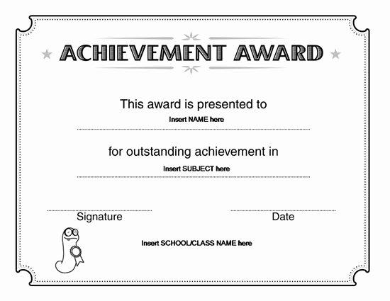 Microsoft Office Certificate Template Elegant Certificate Template Microsoft Word