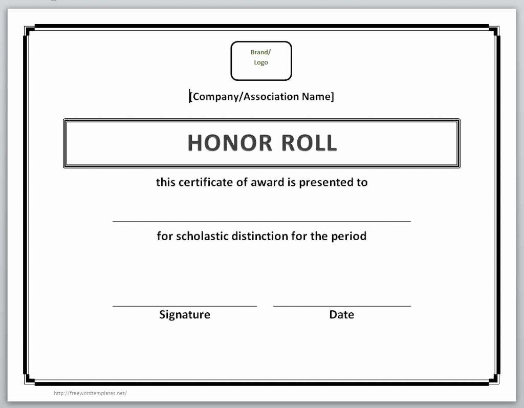 Microsoft Office Certificate Template Fresh 13 Free Certificate Templates for Word – Microsoft and
