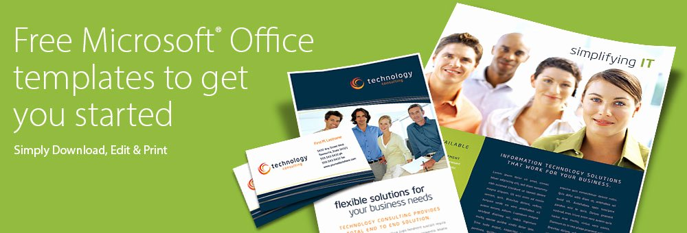 Microsoft Office Free Templates Awesome Free Templates Microsoft Fice Brochures Flyers