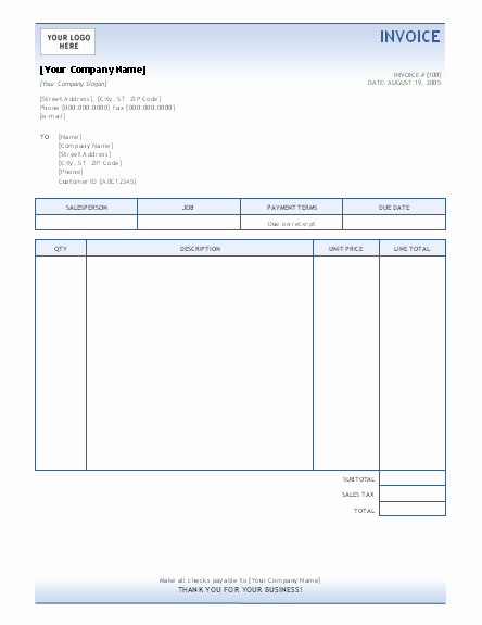 Microsoft Office Free Templates Best Of Invoice Template Invoices