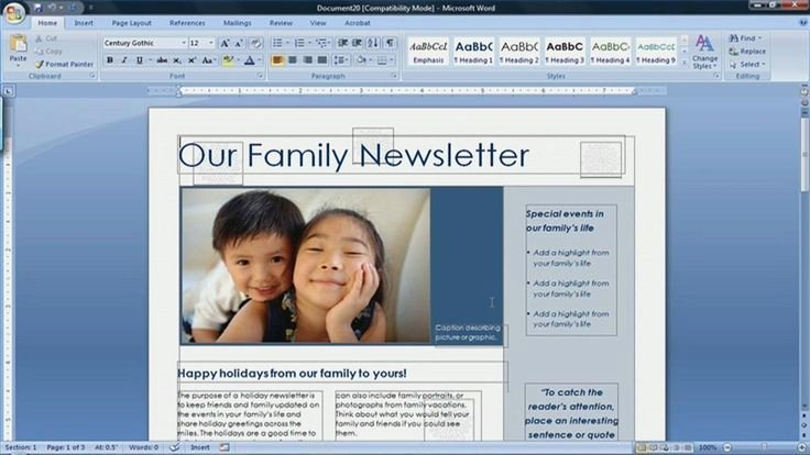 Microsoft Office Newspaper Templates Awesome Best 25 Microsoft Word 2007 Ideas On Pinterest