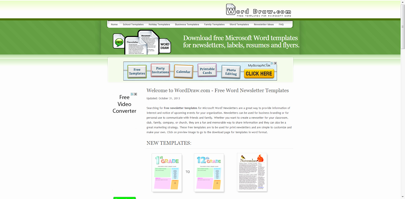 Microsoft Office Newspaper Templates Awesome Learning Never Stops 8 Free Websites to Create Cool