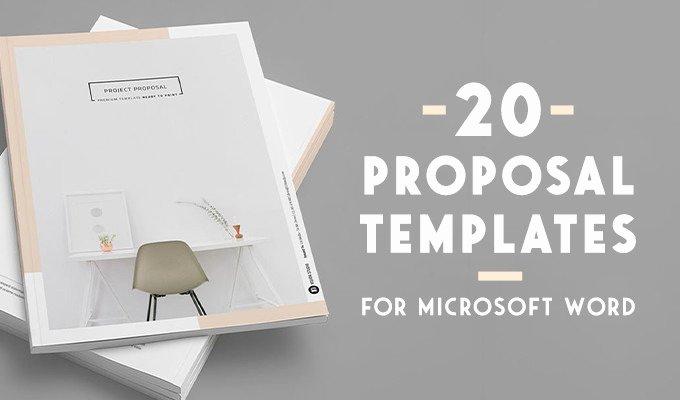 Microsoft Office Proposal Template Beautiful 20 Creative Business Proposal Templates You Won T Believe