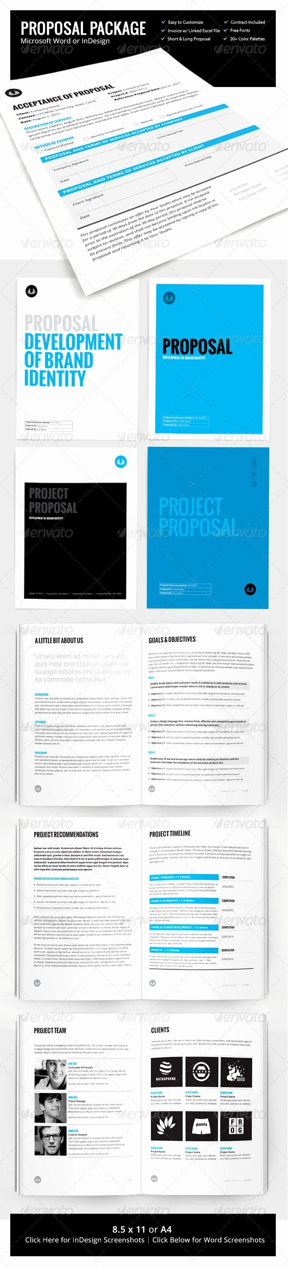 Microsoft Office Proposal Template Best Of Business Proposal Template W Resume & Invoice 60 Pages