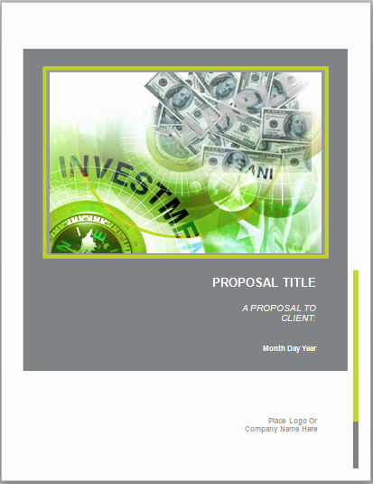 Microsoft Office Proposal Template Best Of Real Estate Investment Proposal Template