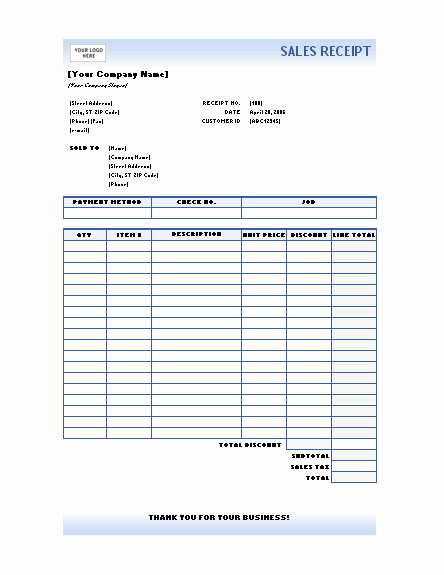 Microsoft Office Receipt Template Fresh Receipts Fice