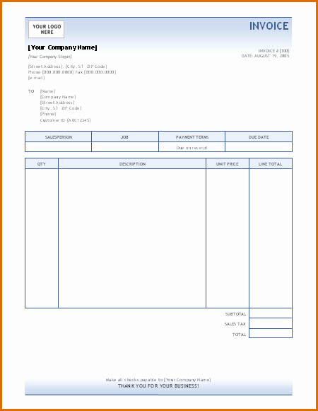 Microsoft Office Receipt Template Lovely 15 Microsoft Office Invoice Template