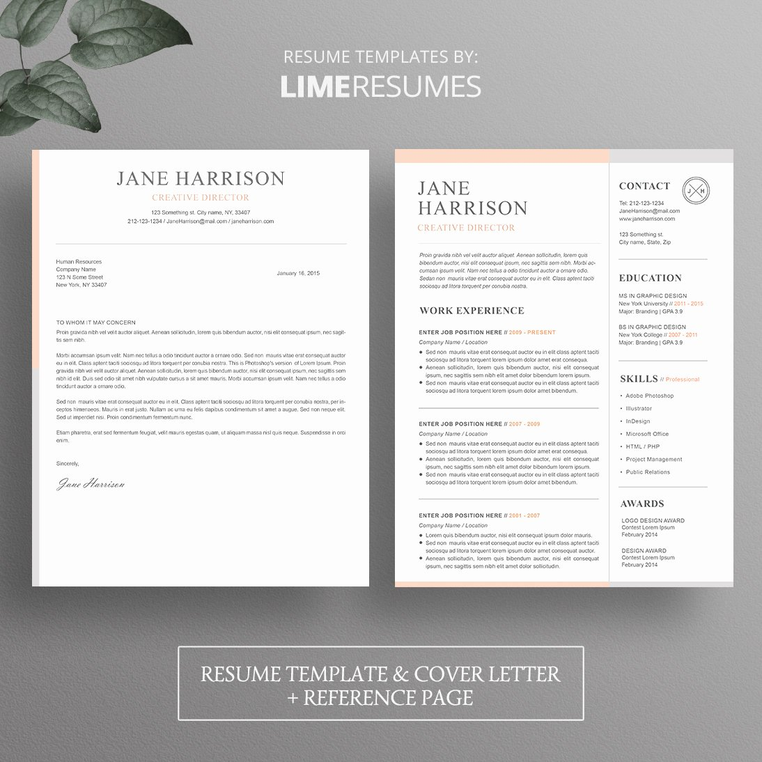 Microsoft Word Cover Letter Templates Best Of Resume Template Cover Letter Template for Word