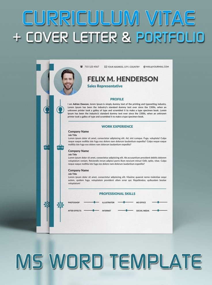 Microsoft Word Cover Letter Templates Lovely Resume Template In Microsoft Word Cover Letter and