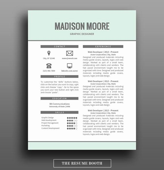 Microsoft Word Cover Letter Templates Luxury Resume Template 2 Page Resume Design