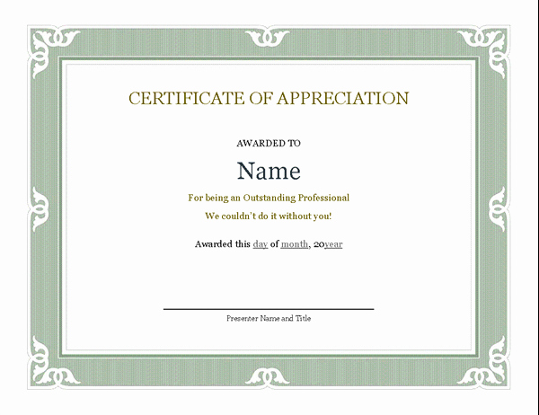 Microsoft Word Diploma Template Lovely Certificates Fice