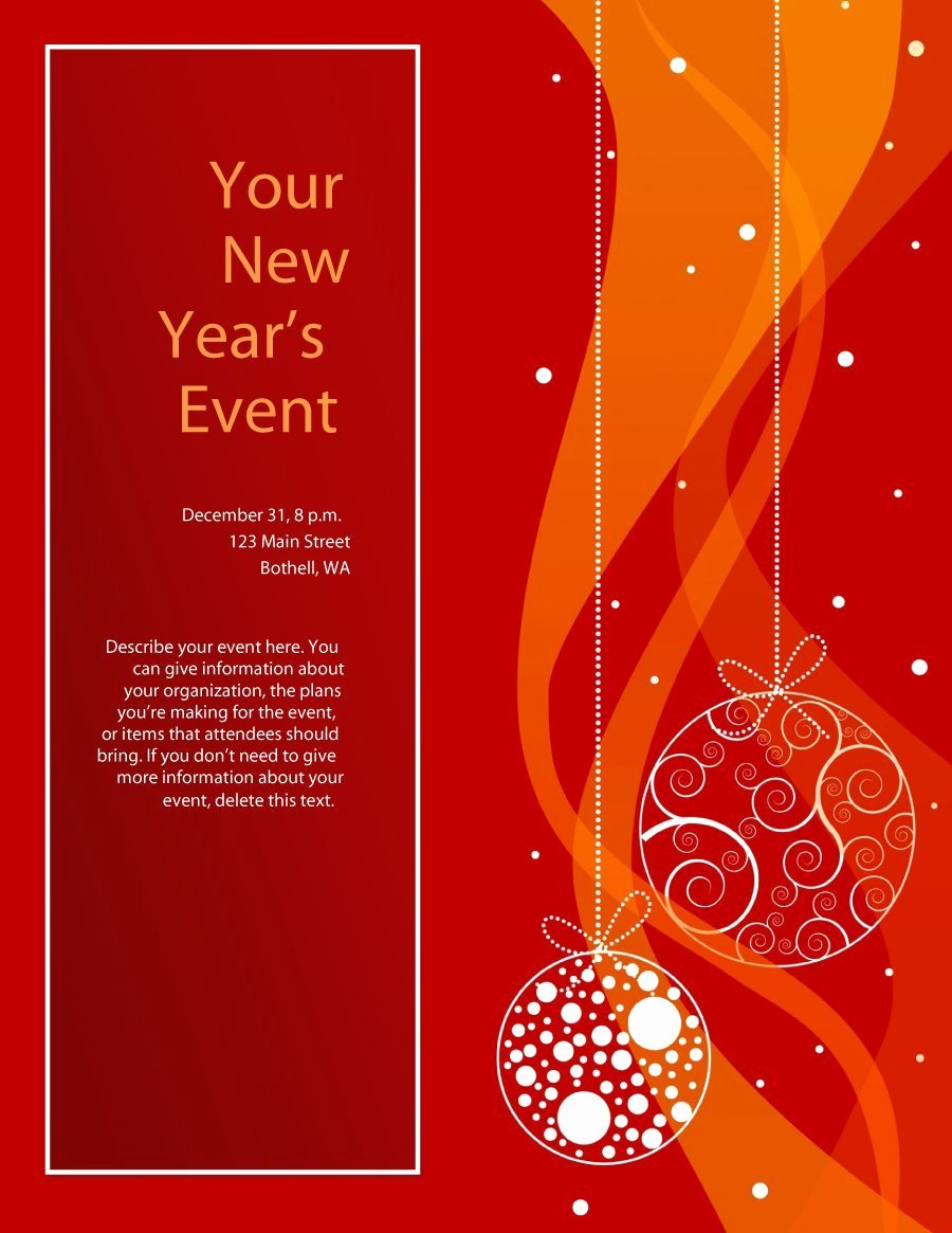 Microsoft Word Flyer Templates Free Awesome 41 Amazing Free Flyer Templates [event Party Business