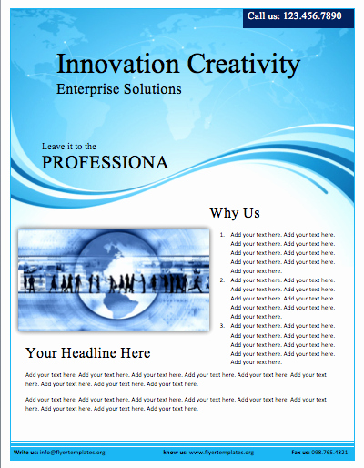 Microsoft Word Flyer Templates Free Awesome Free Flyers Templates
