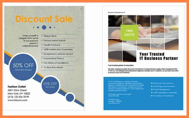 Microsoft Word Flyer Templates Free Beautiful Flyer Template Word Free – 73 Best Microsoft Word