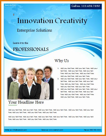 Microsoft Word Flyer Templates Free Inspirational Microsoft Word Flyer Template Free Download