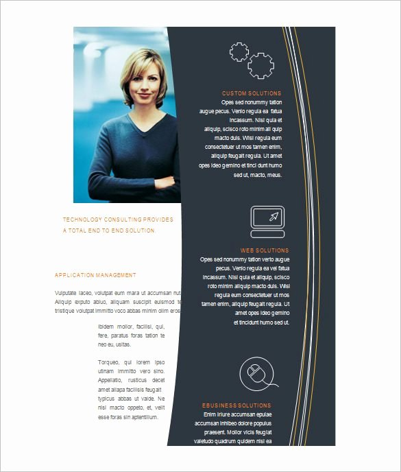 Microsoft Word Flyers Templates Free Fresh Free Brochure Templates for Microsoft Word