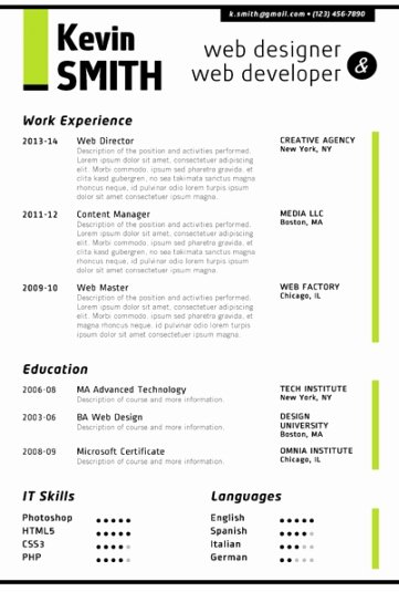 Microsoft Word Resume Example New Trendy Resume Templates for Word Fice