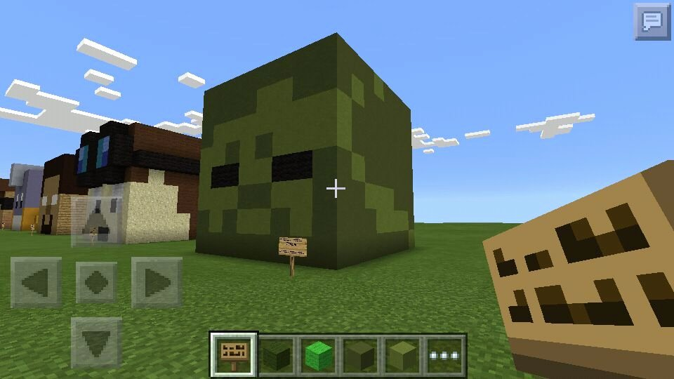Minecraft 3d Pixel Art Luxury Zombie Head 3d Pixel Art