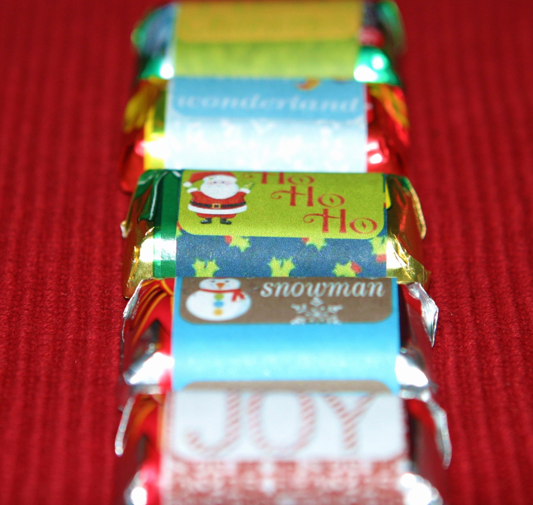 Mini Candy Bar Wrapper Template Fresh Christmas Candy Wrapper Template
