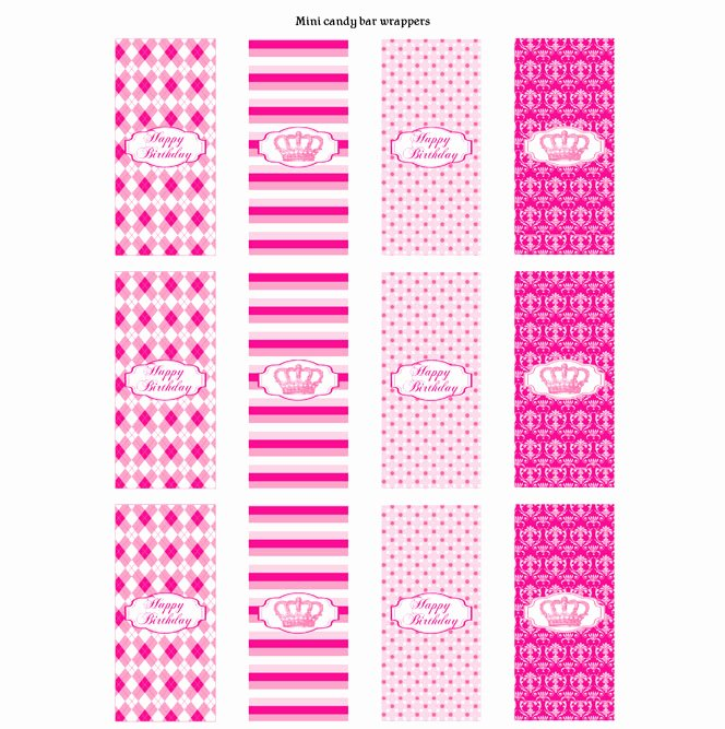 Mini Candy Bar Wrapper Templates Beautiful Other Printable Gallery Category Page 179