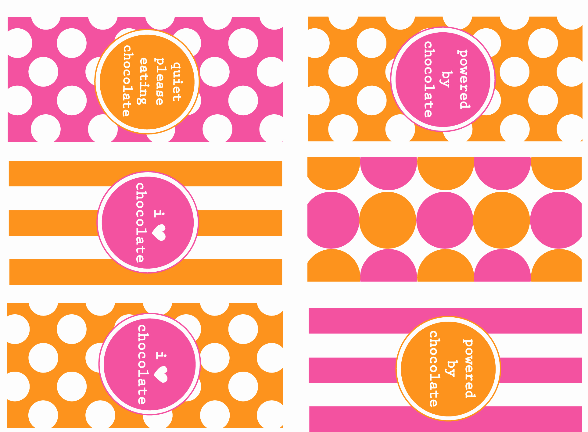 Mini Candy Wrapper Templates Unique Persona Printable