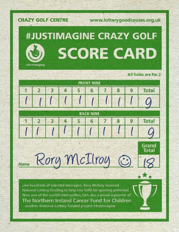 Mini Golf Score Card Luxury Mini Golf Scorecard