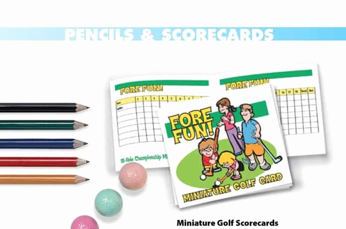 Mini Golf Score Cards Best Of Mini Golf Party Rental Albany Ny