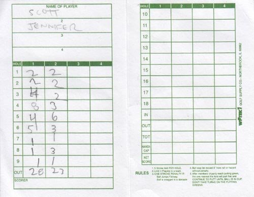Mini Golf Score Cards New Rocket Park Mini Golf New York Hall Of Science 47 01