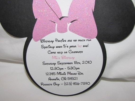 Minnie Mouse Birthday Invitation Wording Beautiful Minnie Mouse Birthday Quotes Quotesgram