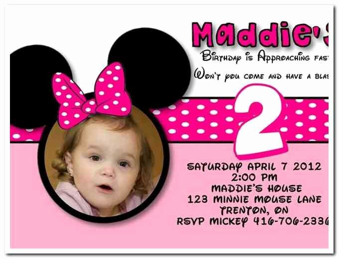 Minnie Mouse Birthday Invitation Wording Inspirational Download now Free Template Minnie Mouse Birthday