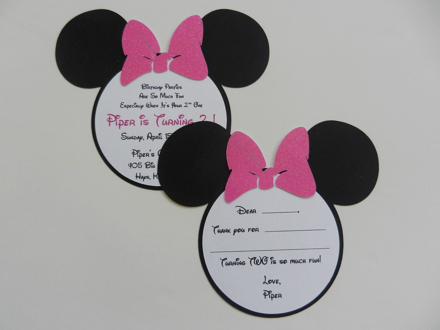 Minnie Mouse Blank Invitation Lovely Minnie Mouse Invitations Minnie Mouse by Whimsycreationsbyann
