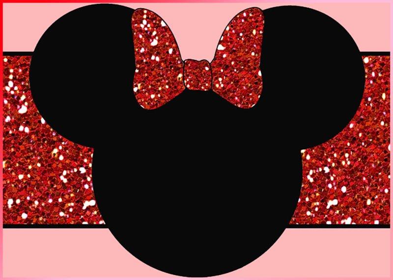 Minnie Mouse Blank Invitation Luxury the Largest Collection Of Free Minnie Mouse Invitation