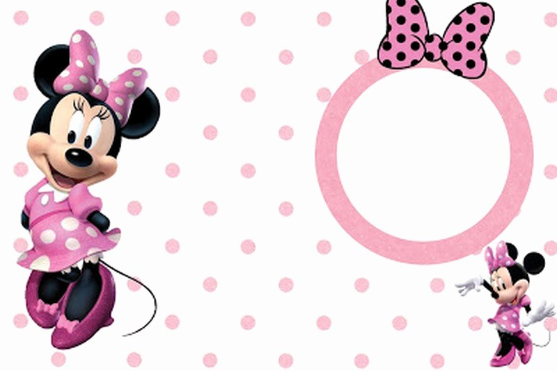 Minnie Mouse Blank Invitation New Minnie Mouse Free Printable Invitation Templates