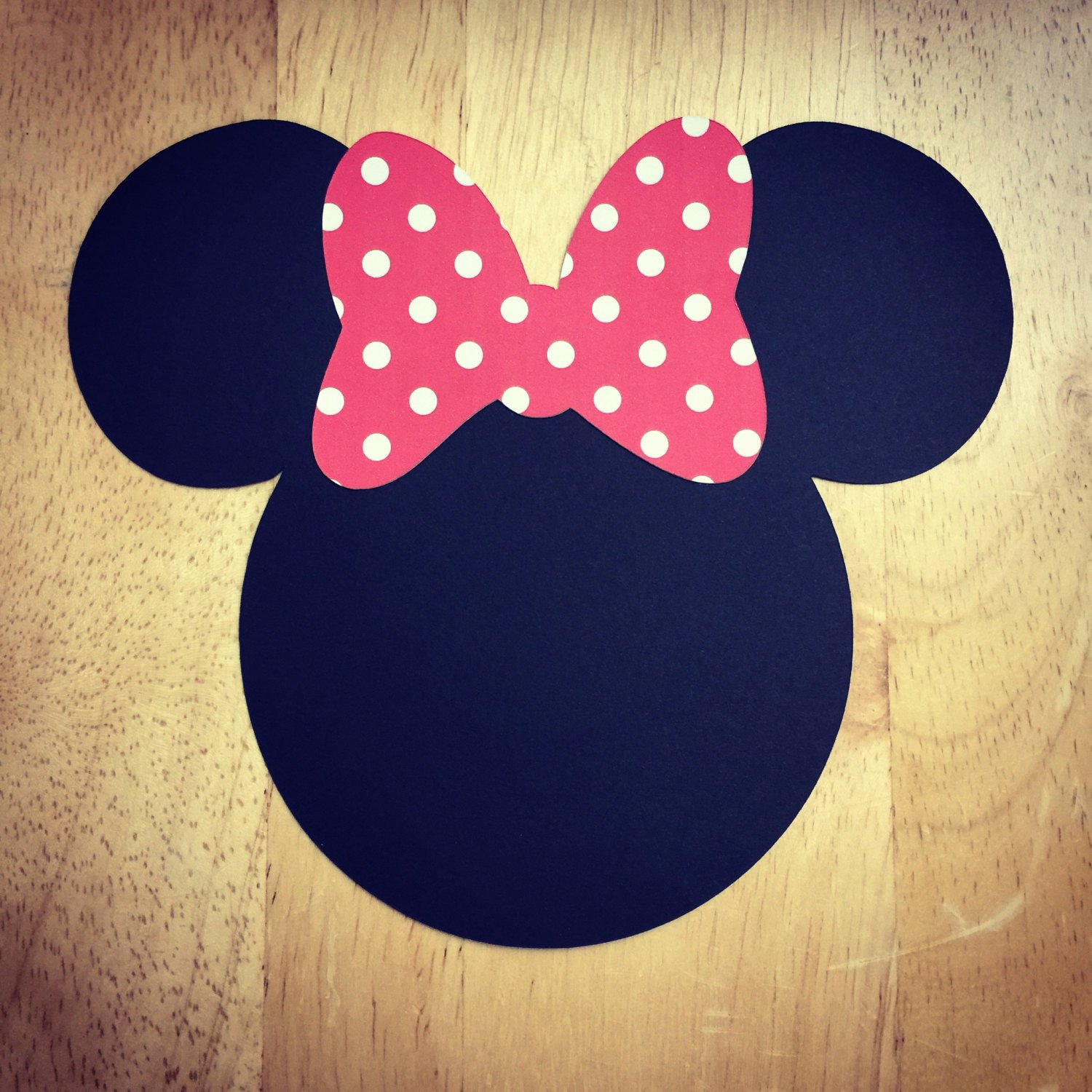 Minnie Mouse Bow Cut Out Awesome Minnie Mouse Cut Outs with Bows Various Sizes and Colors