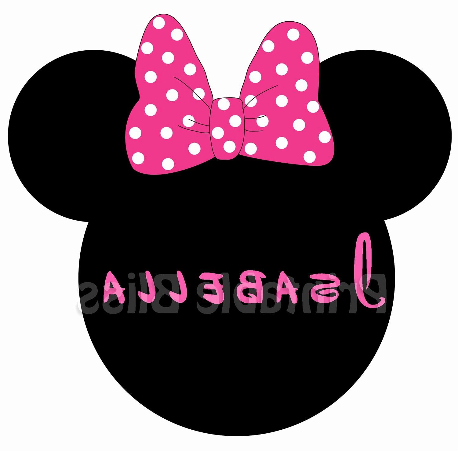 Minnie Mouse Bow Cut Out Beautiful Hd Minnie Mouse Bow Cut Out