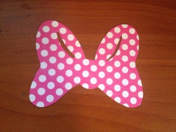 Minnie Mouse Bow Cut Out Fresh Items Similar to Minnie Mouse Polka Dot Die Cut Bows Set