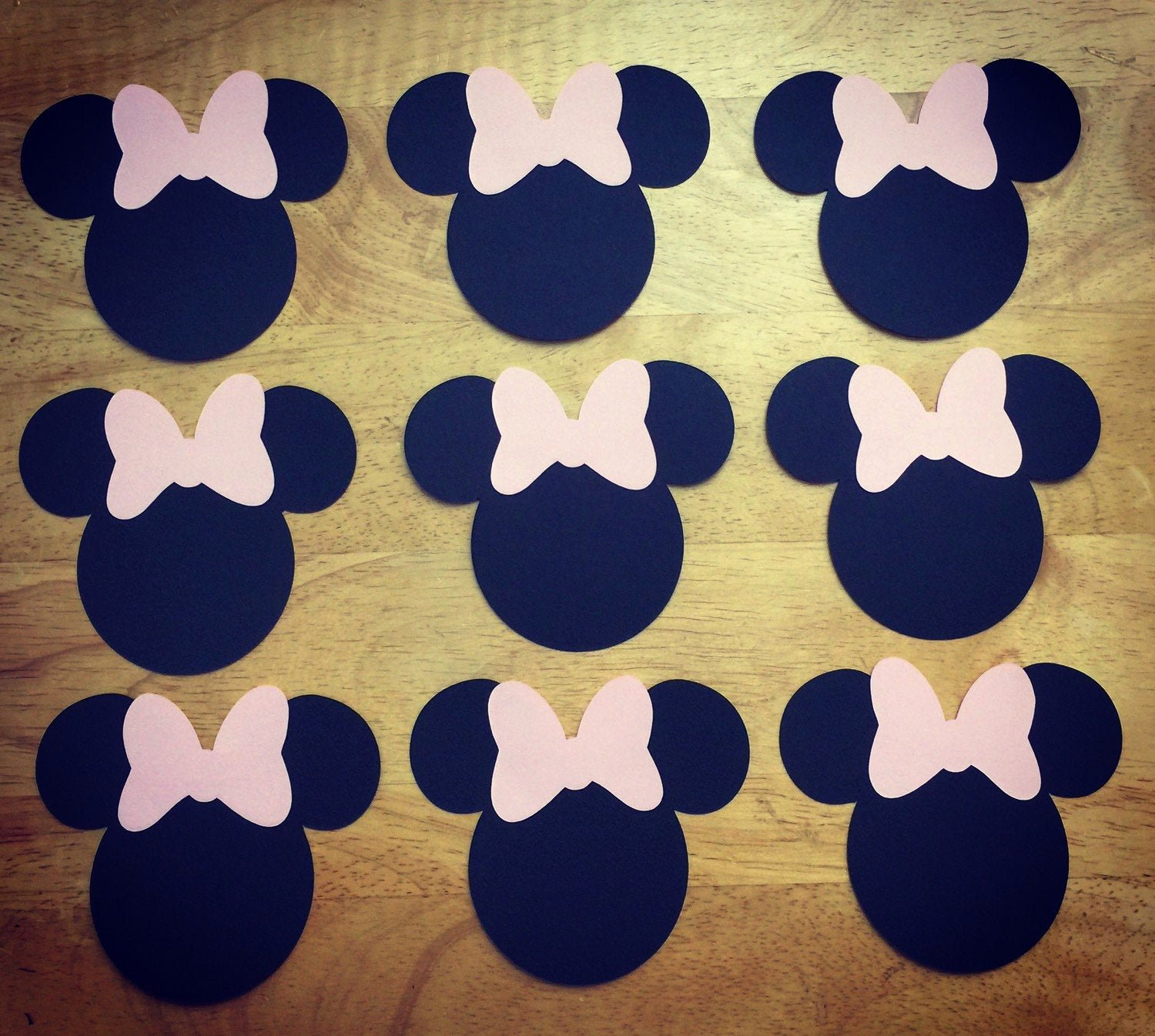 Minnie Mouse Bow Cut Out Inspirational Minnie Mouse Cut Outs with Bows Various Sizes and Colors