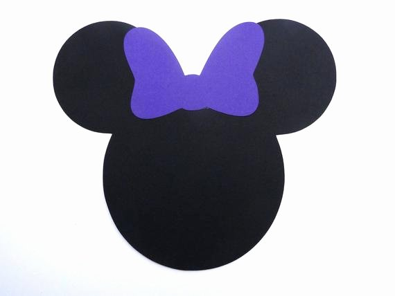 Minnie Mouse Bow Cut Out Unique Items Similar to Minnie Mouse Head with Bow Die Cut Any