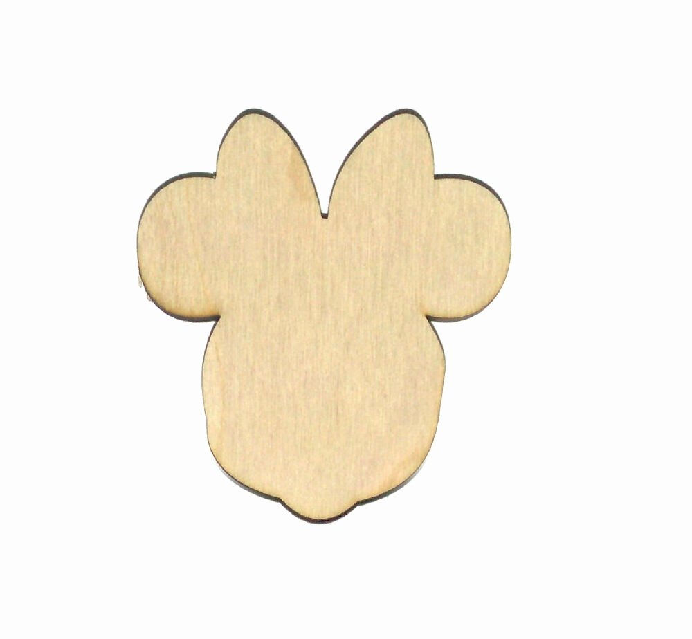 Minnie Mouse Cut Out Pattern Inspirational Minnie Mouse Unfinished Wood Shape Cut Out Mm1605 Crafts