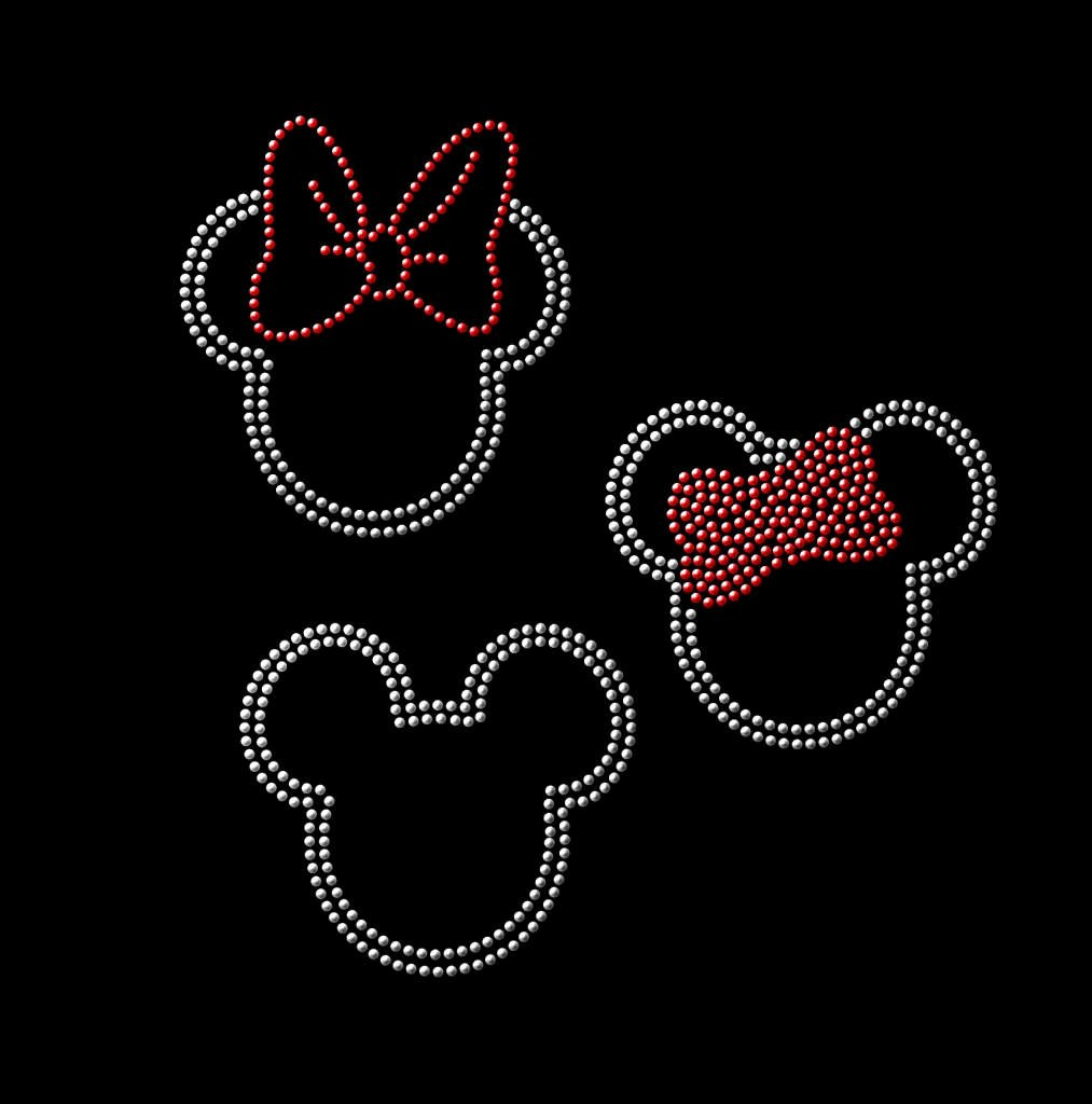 Minnie Mouse Cut Out Pattern Unique Mickey Mouse Rhinestone and Minnie Mouse Svg Pattern for