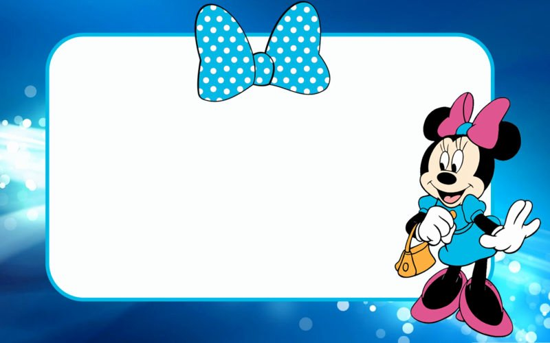 Minnie Mouse Invitation Maker Lovely the Largest Collection Of Free Minnie Mouse Invitation