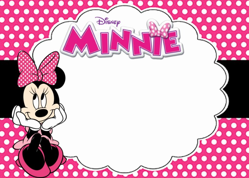Minnie Mouse Invitation Maker New the Largest Collection Of Free Minnie Mouse Invitation