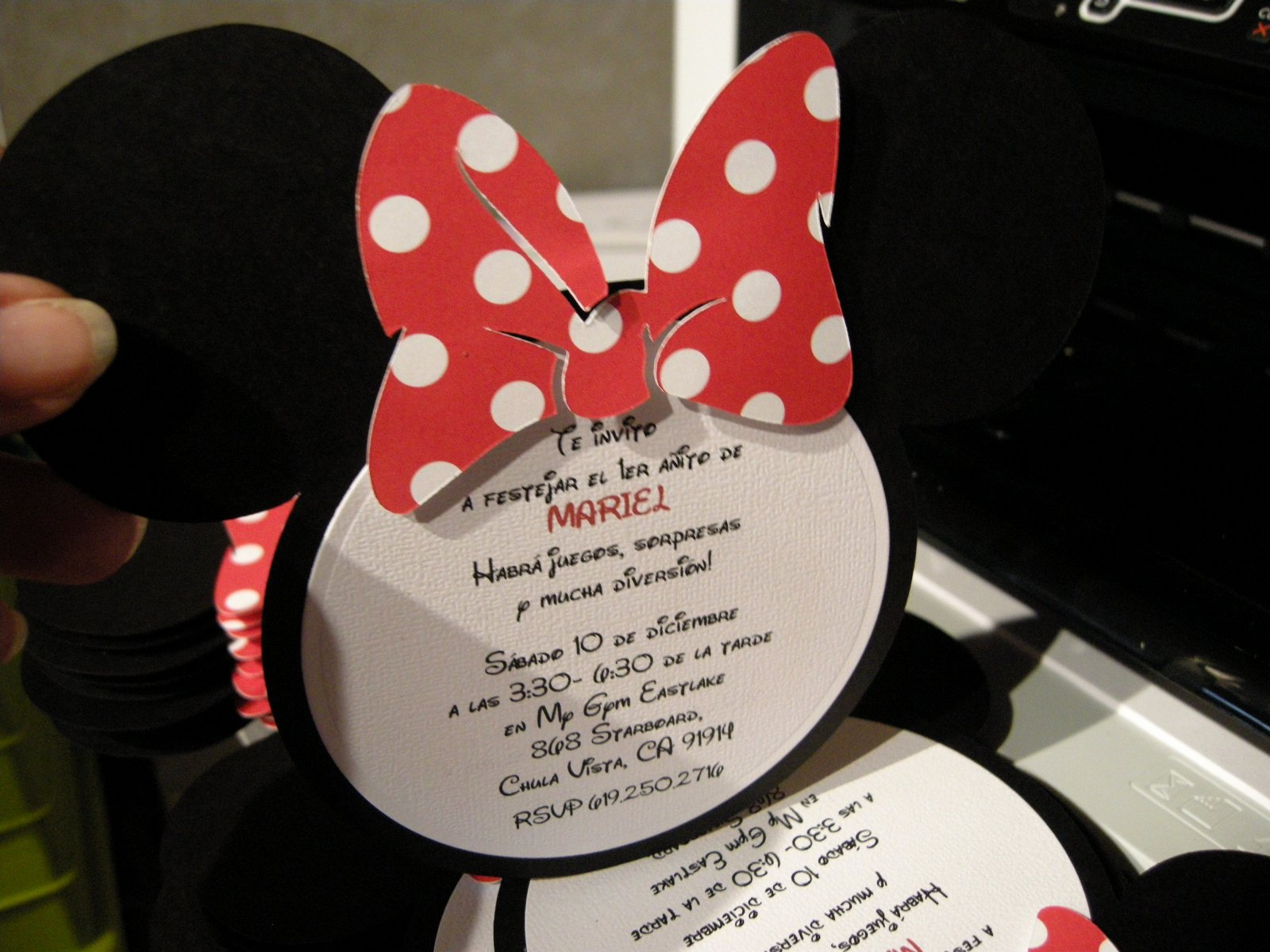 Minnie Mouse Invitation Wording Awesome Minnie Mouse Invitations