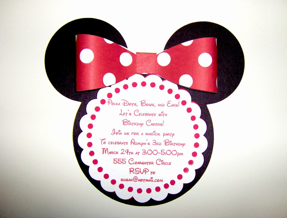 Minnie Mouse Invitation Wording Best Of Birthday Invitation Wording for Kids Say No Gifts