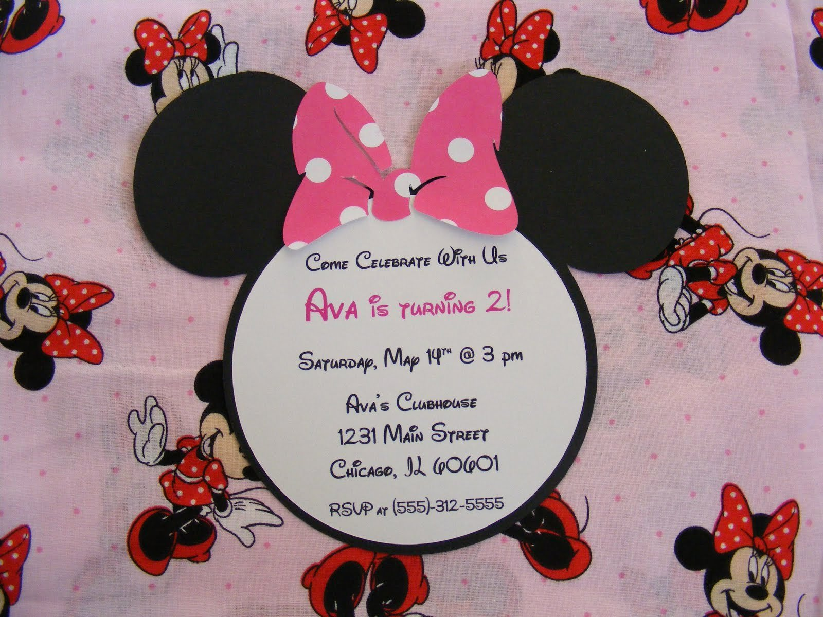 Minnie Mouse Invitation Wording Unique Whimsical Creations by Ann Minnie Mouse Party Ideas