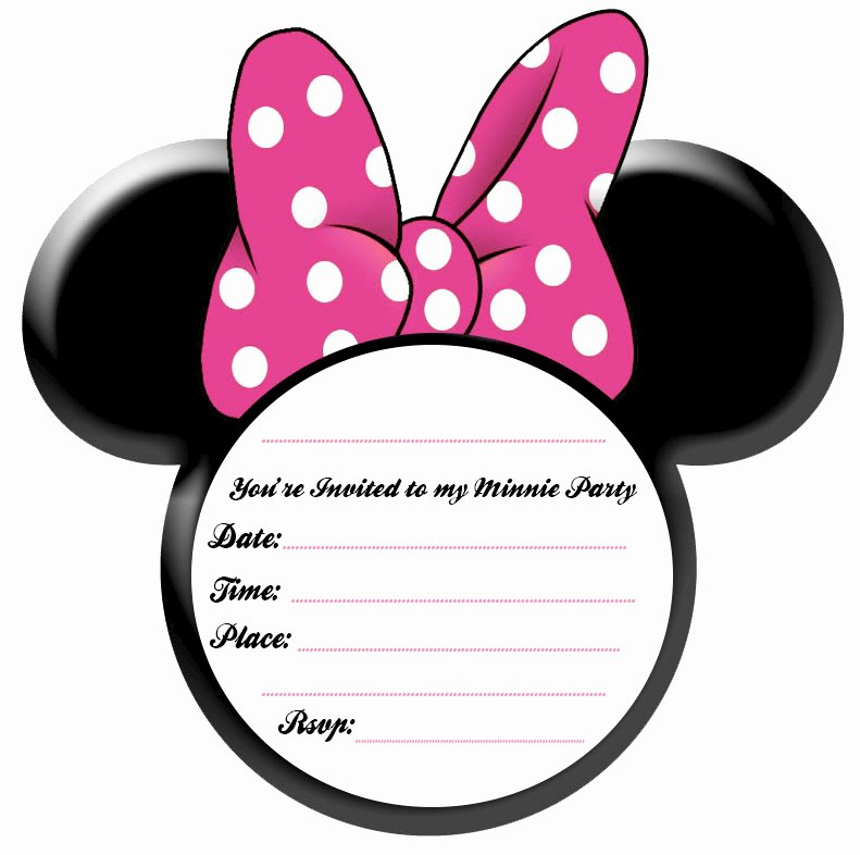 Minnie Mouse Invitations Free Beautiful Party Simplicity Minnie Mouse Party Ideas and Free Printables