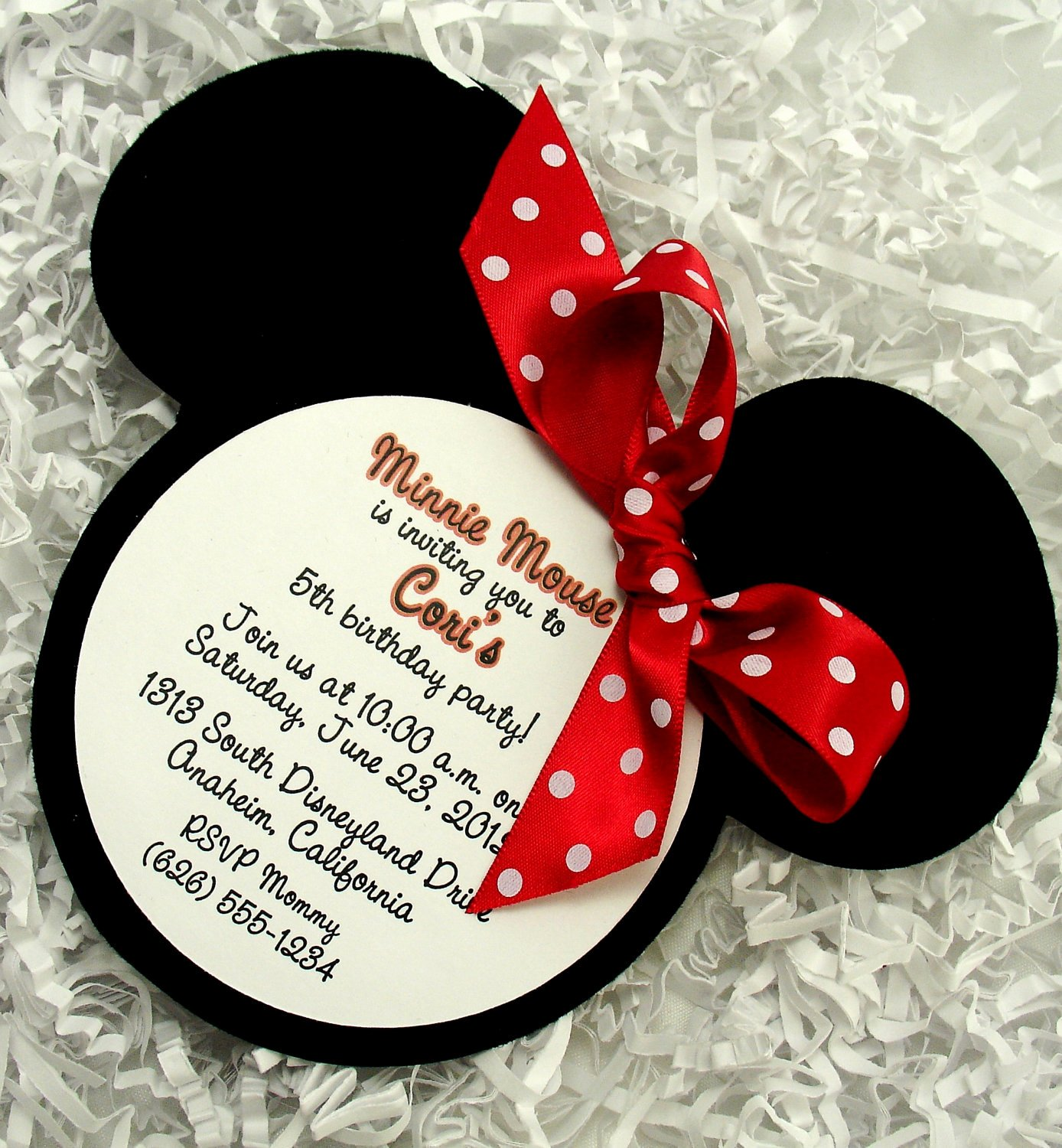 Minnie Mouse Party Invitations Beautiful 1000 Images About Mickey Minnie Mouse On Pinterest